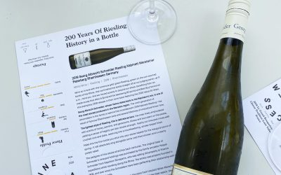 Germany and Georg Albrecht Riesling Wine Review