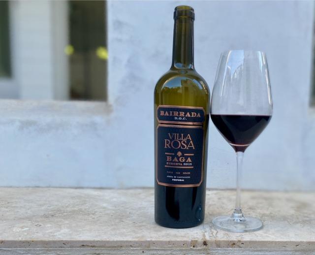 Portuguese Wine Travels: Villa Rosa Bairrada Baga Wine Review