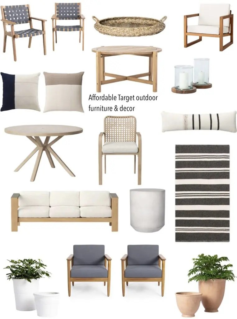 affordable target outdoor furniture