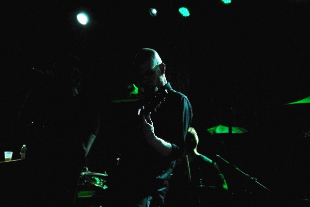 Local band Murdoc opened things with a high-energy half-hour set, alternating between kinet riffing, punishing breakdowns, and introspective clean breaks.