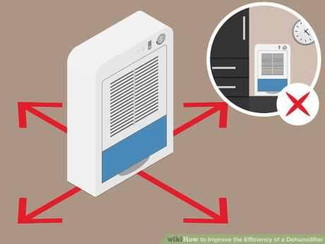 Follow the tips to increase dehumidifier efficiency