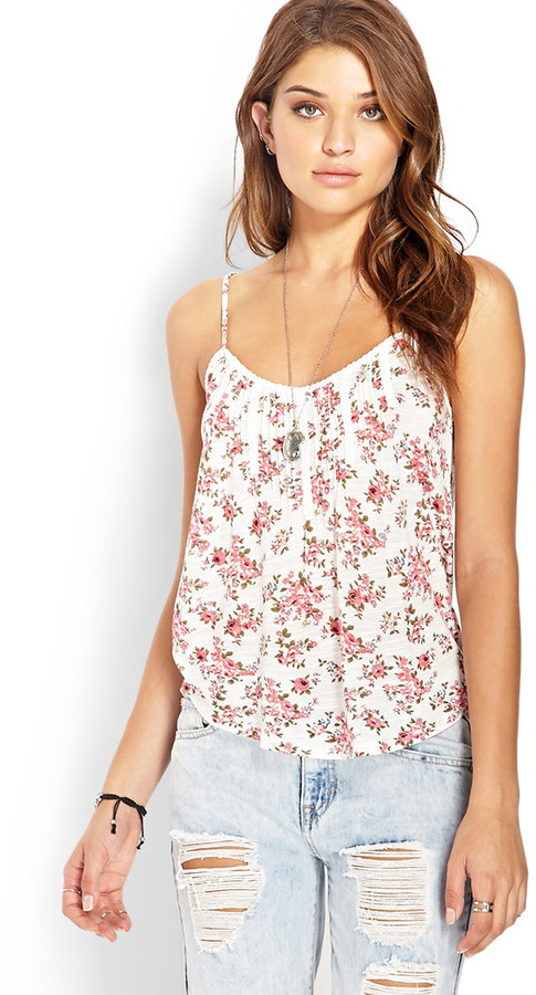 fresh rose cami