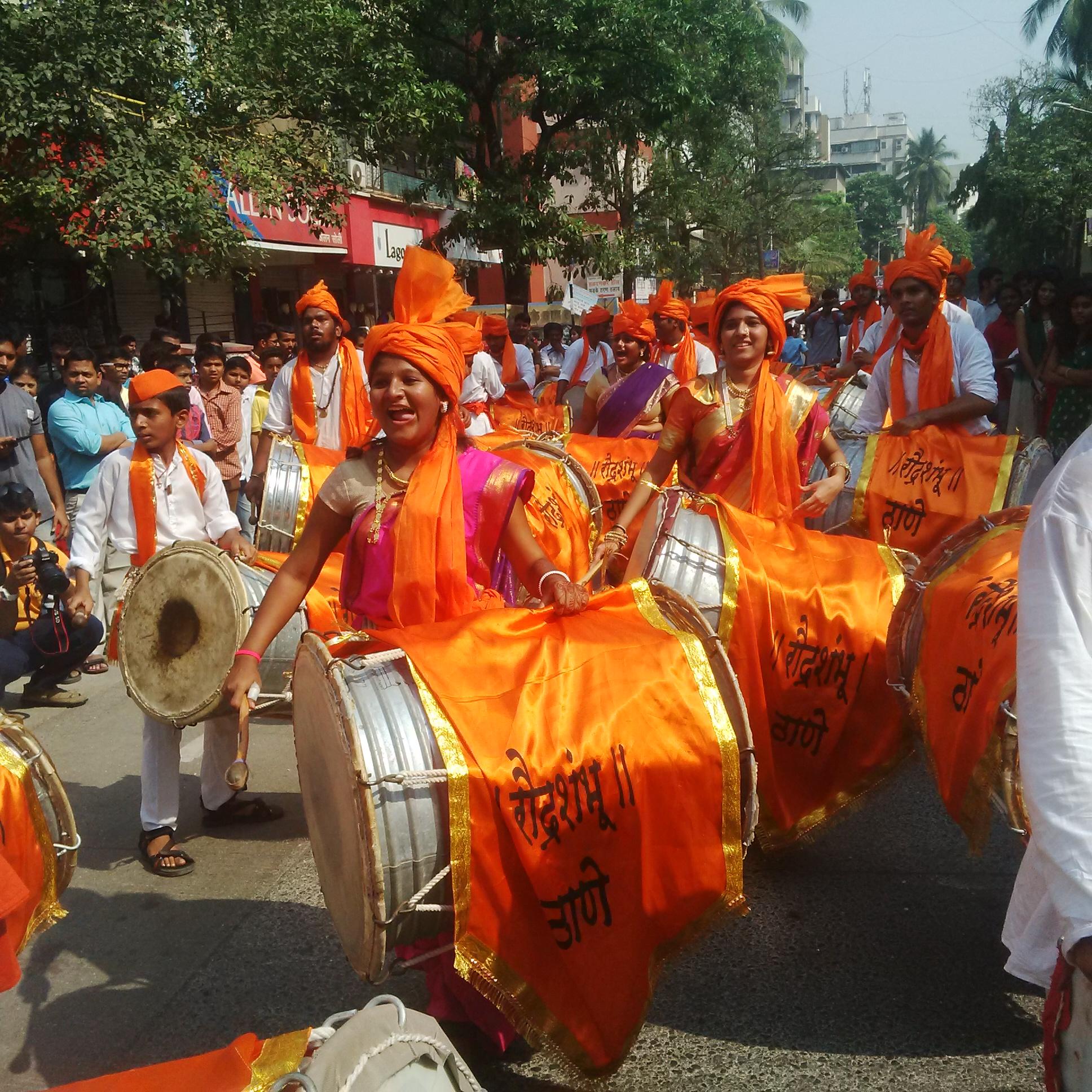 The Shobha Yatra in Gudi Padwa Celebrations in India