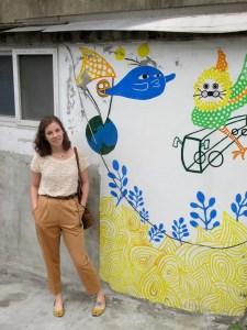 Seoul, Korea: Hongje Ant Village, Street Art