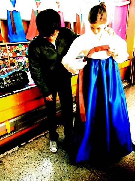 Gwangjang Market: Hanbok Shopping, Custom Korean Hanbok, Korean Traditional Clothing