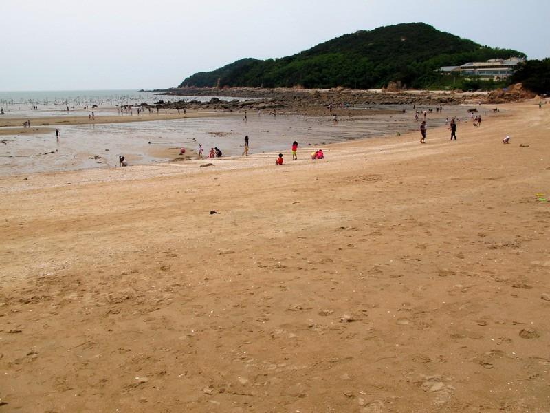 Seonnyeo Rock Beach, Incheon, Korea