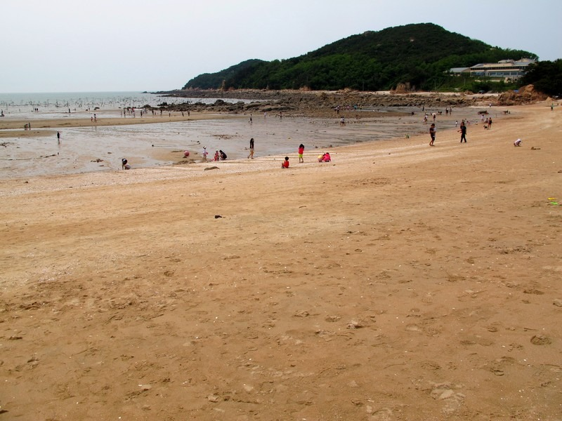 Seonnyeo Rock Beach, Incheon, Korea