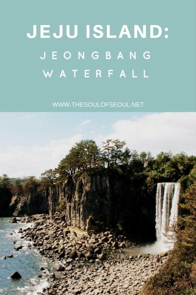 Jeju Island, Jeongbang Waterfull, Korea