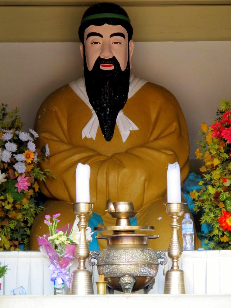 Tangun Shrine Statue