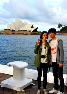Sydney, Australia: Hallie & Jae-oo and the Sydney Opera House