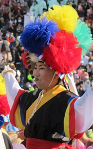 Seoul, Korea: Lotus Lantern Festival 2013, Eoulim Madang Traditional Hat