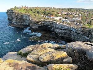 Sydney, Australia: Cliffs at Watson's Bay