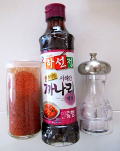 Korean Cooking: Fish Sauce, Food
