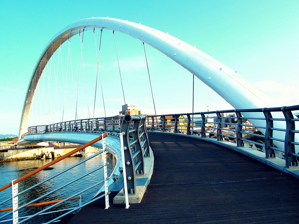 Gangneung, Korea: Gyeongpo Beach Bridge
