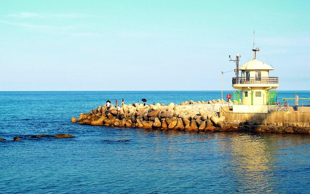 Gangneung, Korea: Gyeongpo Beach Lighthouse