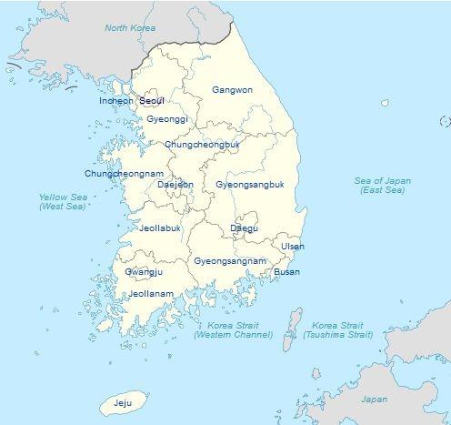 Korean State Map