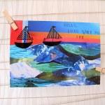 Long Time No See Postcard