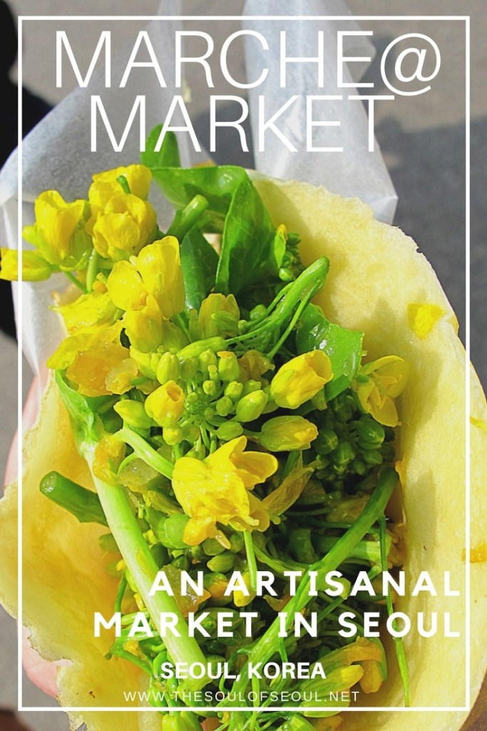 Marche@ Market: An Artisanal Market in Seoul, Korea: This artisanal market sets up shop once a month in Hyewha, Seoul and offers lots of food to eat as well as other organic and handmade things to purchase. Check out this artisan market in Seoul, Korea.