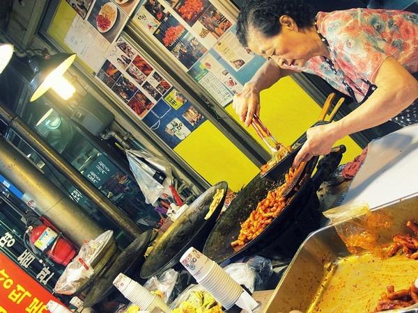 Seoul, Korea: Tongin Market, Korean Food