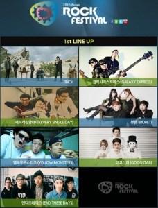 2015 Busan Rock Festival