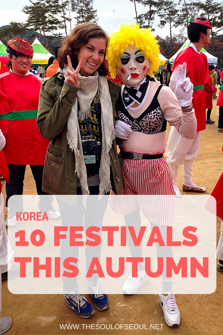 10 Festivals this Autumn in Korea