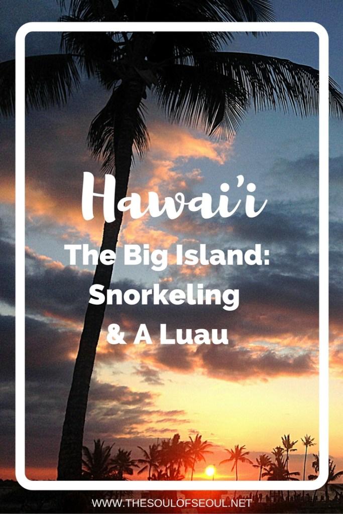 Hawaii, USA: The Big Island: Snorkeling & A Luau