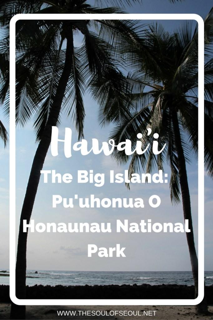 Hawaii, USA: The Big Island: Pu'uhonua O Honaunau National Park