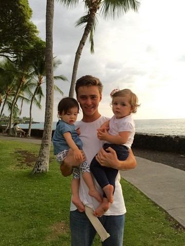The Big Island, Hawaii, family