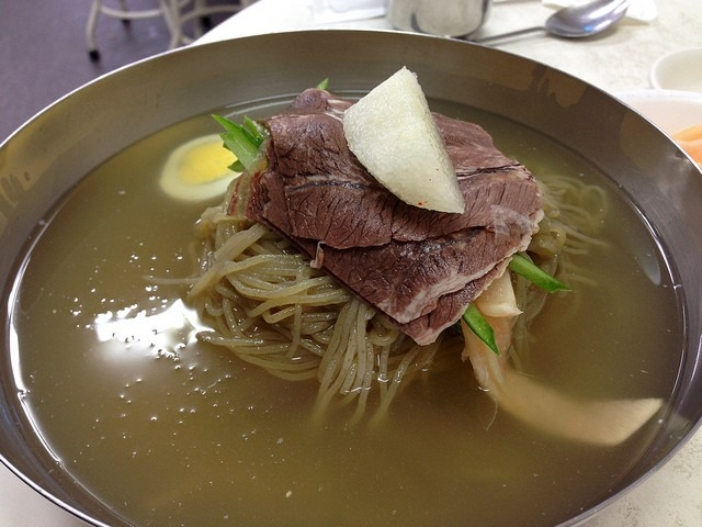 EulMilDae, North Korean Naengmyeon restaurant, Seoul, Korea