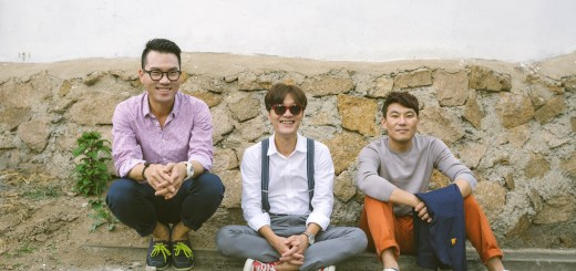 Korean band: Every Single Day; members Sung Nam Moon, bassist, Je Woo Jeong, guitarist and Hyo Young Kim, drummer.