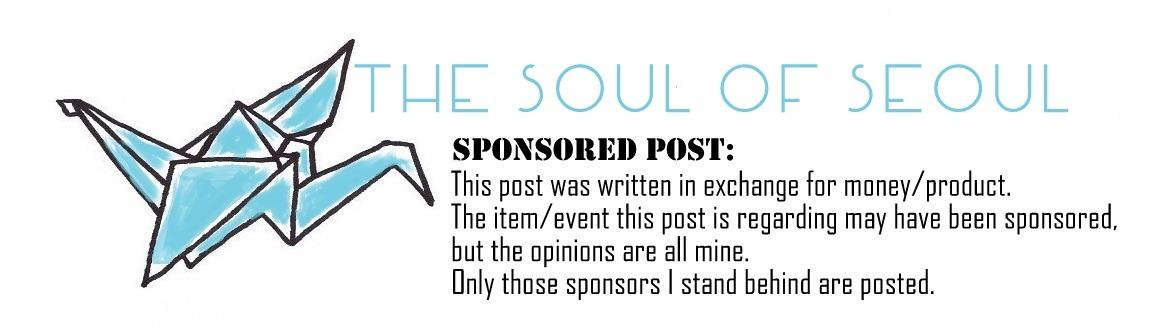 The Soul of Seoul: Sponsor Banner