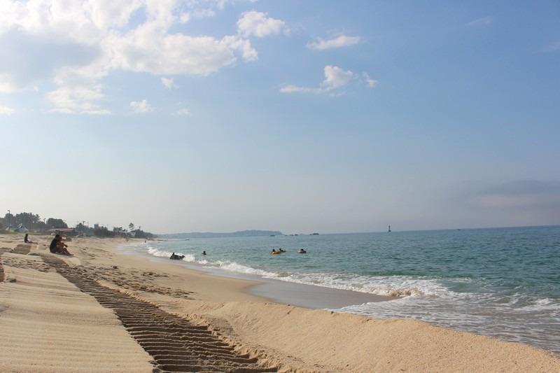 Sungeut Beach, Gangneung Korea