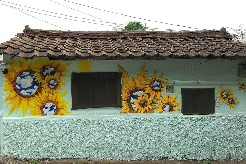 Yeonnam-dong, Seoul, Korea: Painted home