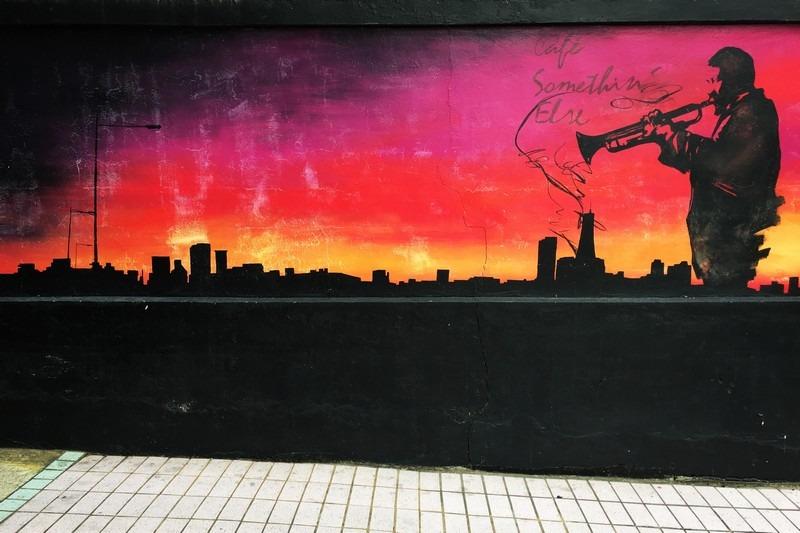 Yeonnam-dong, Seoul, Korea: Murals