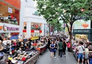 Myeongdong: Source: Korea.net