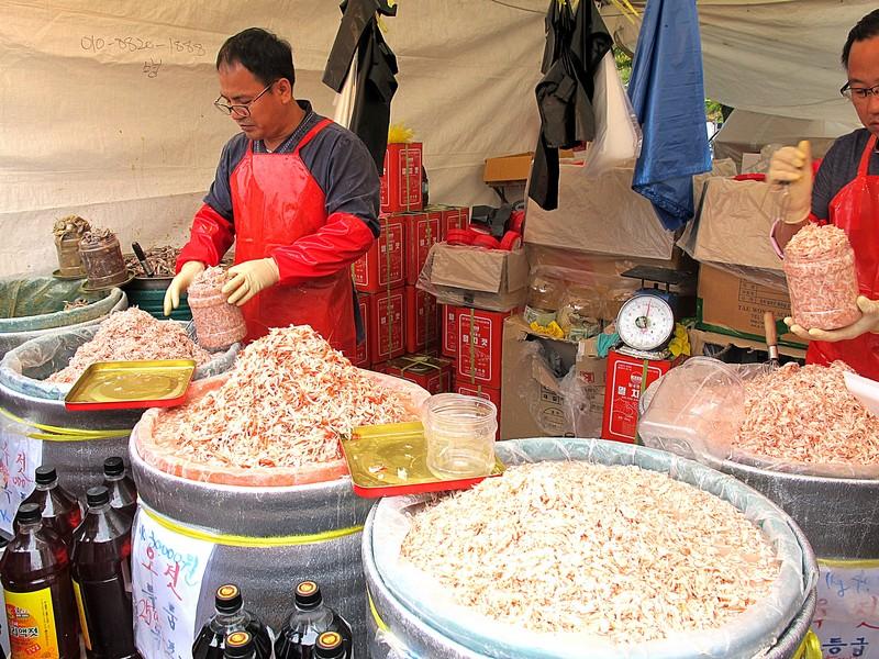 Saeujeot Festival, (Salted Shrimp) Pyeonghwa Park, World Cup Park, Seoul, Korea