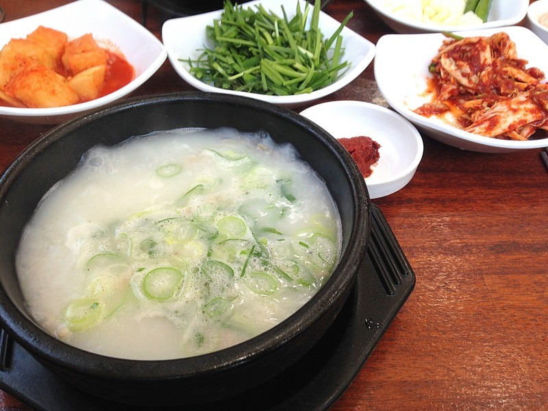 Korean Eating: Dwaejiguk-bap, Pork Stew
