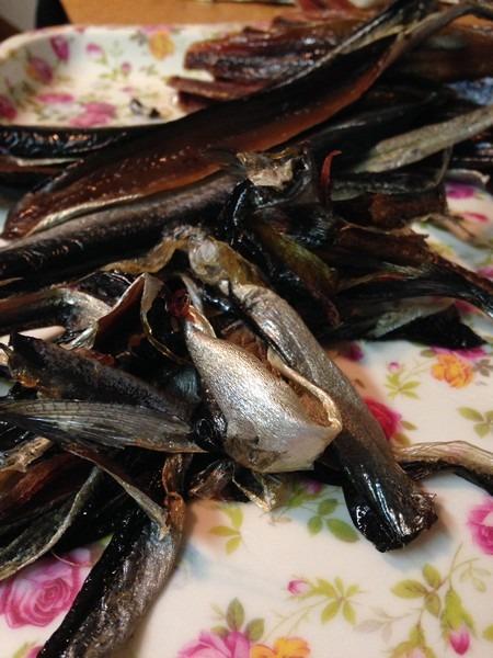 Korean Eating: Gwamegi, Pacific Herring