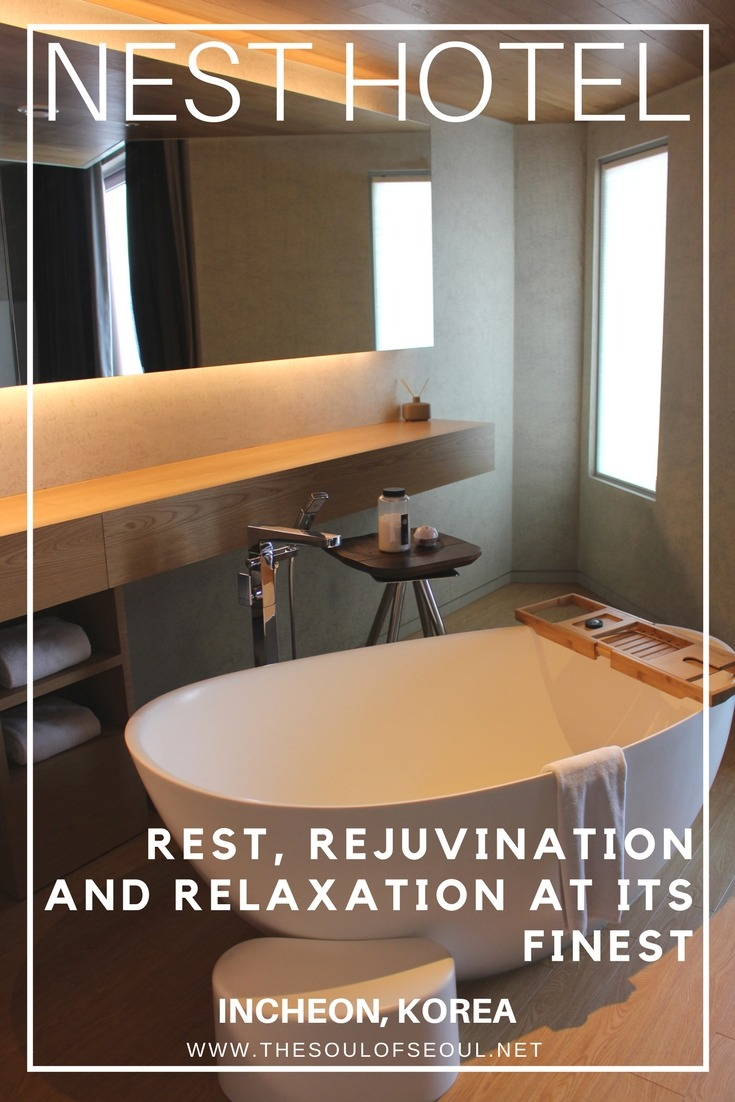 Nest Hotel, Incheon, Korea: Rest, Rejuvination and Relaxation At Its Finest: The Nest Hotel offers a modern and simple retreat in Incheon, Korea. An elegant interior and industrial facade make for an amazing Design Hotel treat just outside of Seoul.