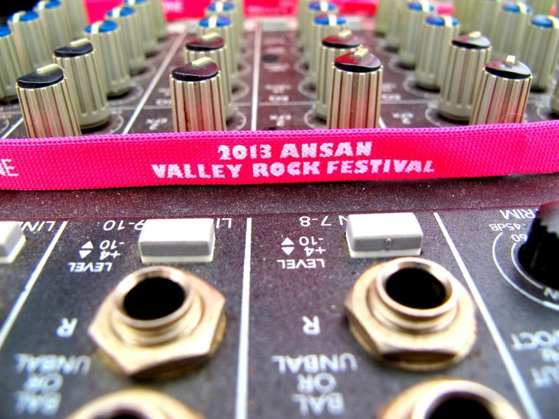 Ansan Valley Rock Festival 2013, Korea