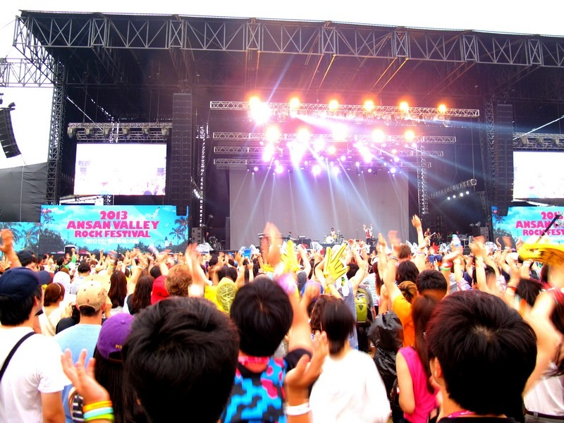 Ansan Valley Rock Festival 2013, Korea
