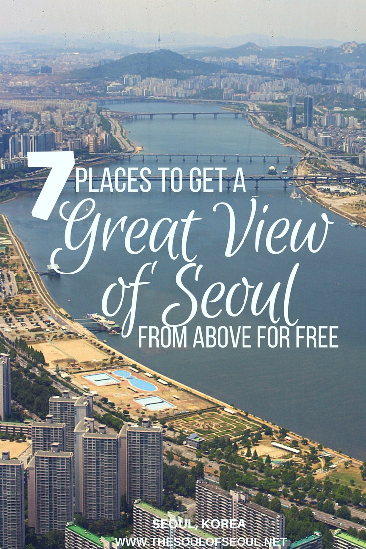 7 Places To Get a Great View of Seoul From Above for FREE, Seoul, #Korea: Seoul Sky #Observatory truly offers some #spectacular views of Seoul, but it's not the only spot to get a bird's eye view. Check out this list of other great #FREE spots around #Seoul to get a great #view from above.