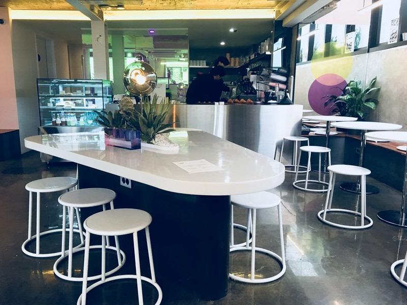 Orbit Cafe, Yeonnam-dong, Seoul, Korea