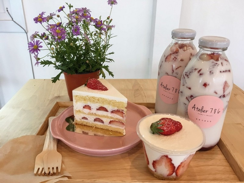 Atelier 786, Yeoncheon-gun, Korea: Strawberry Farm & Cafe