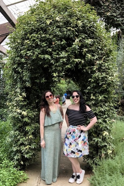 Herb Village, Yeoncheon-gun, Korea: Hallie Bradley and Arielle Pukanecz