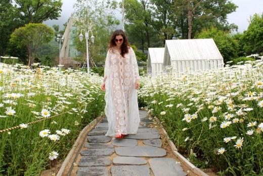 Mahogany Cafe, Ganghwado, Incheon, Korea: Hallie Bradley in Daisies