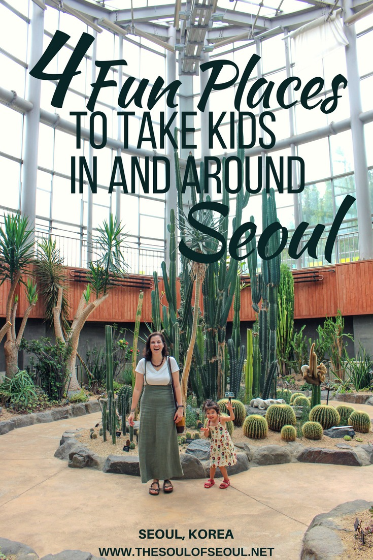4 Fun Places To Take Kids In & Around Seoul: From #science to #art and #nature, there is a lot to do with #kids in and around #Seoul, #Korea. Here are four awesome places to take #children in #Seoul.