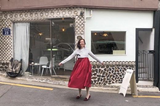 Leesle Hanbok, Cafe Rapture, Seoul, Korea: Hallie Bradley