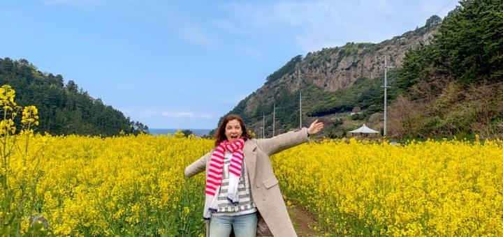 Canola Flower Field, Ulleung-do, Korea: Hallie Bradley