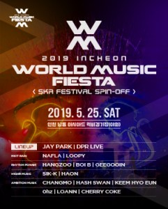 Incheon World Music Fiesta, Korea